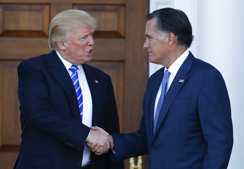 Mitt Romney and Donald Trump? 'It's really complicated' - Sentinel Colorado