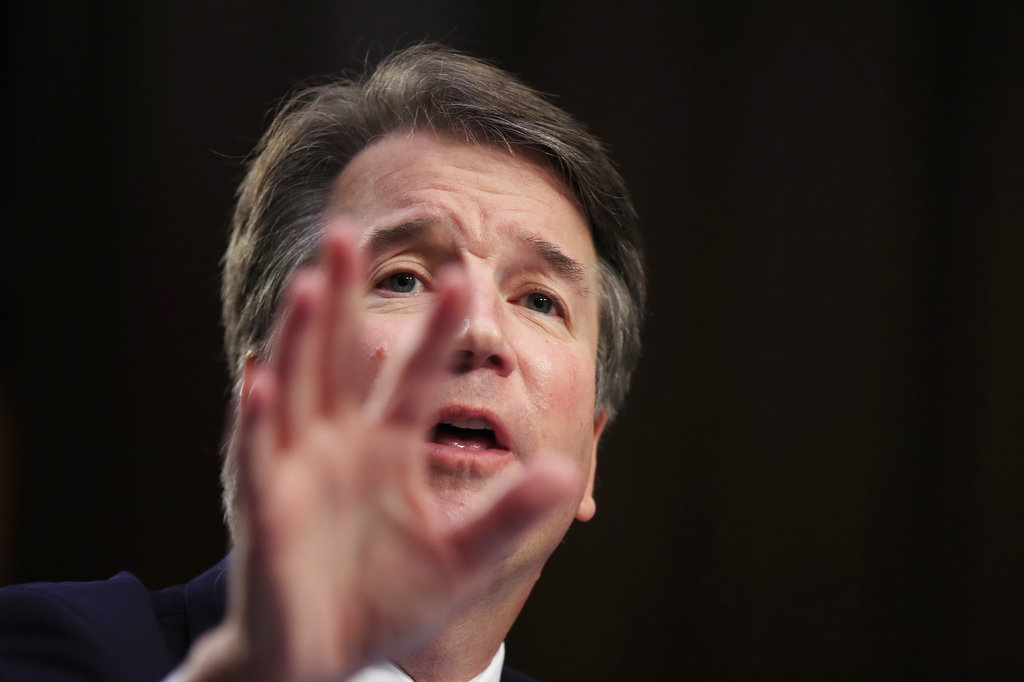 Donald Trump's Supreme Court nominee Brett Kavanaugh won't be 'intimidated' into withdrawing