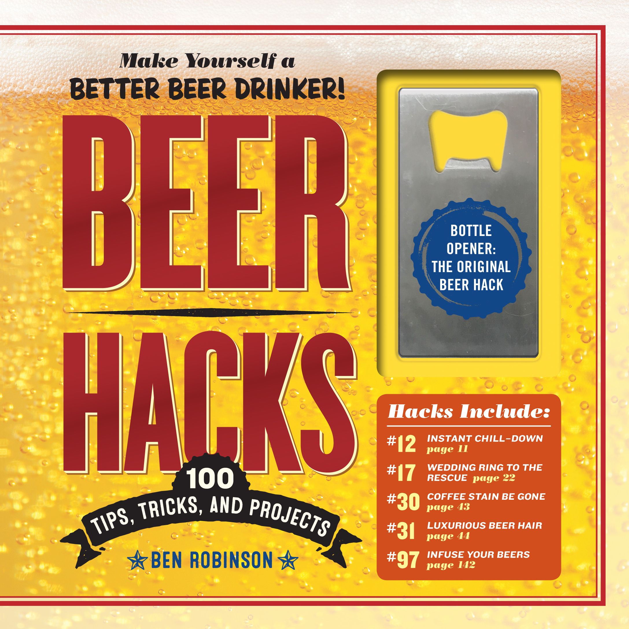 Beer lovers, listen up: New book has some life hacks for you