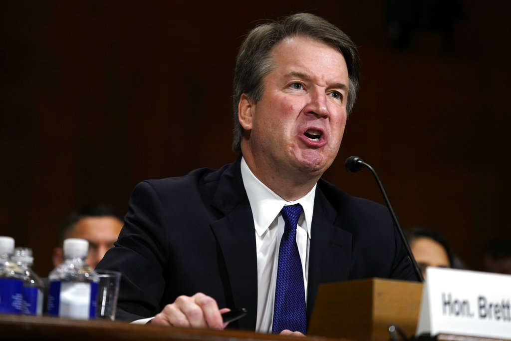 Kavanaugh accuser details alleged sexual assault to U.S. Senate committee
