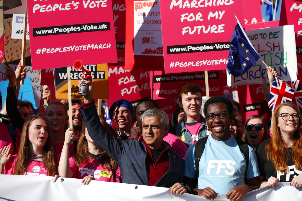 Want a Second EU Referendum? Show Up to the People's Vote March