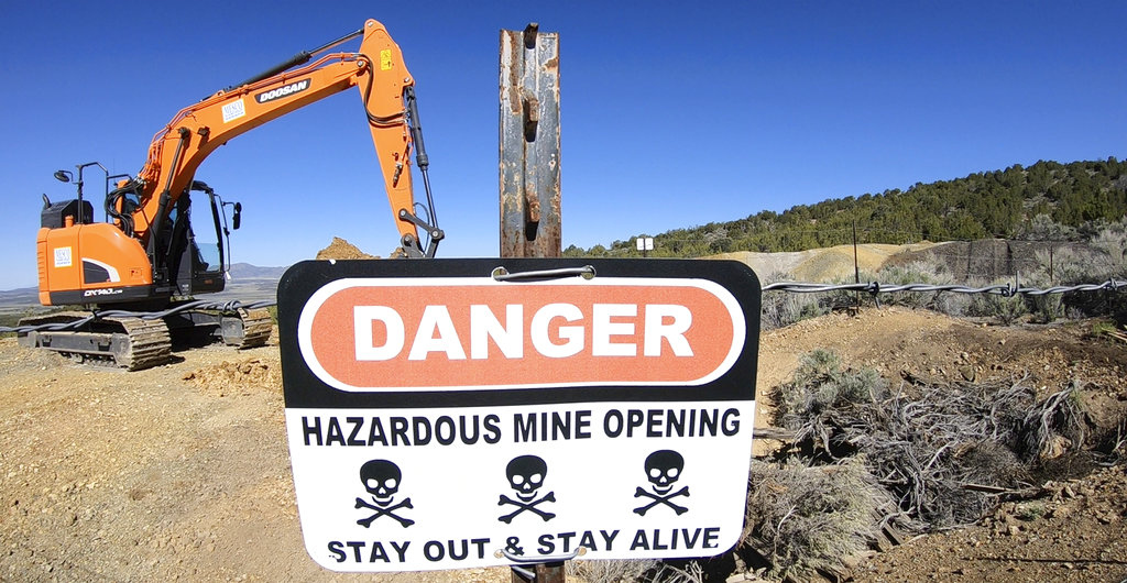 US West's abandoned mines hold danger and, for some, thrills