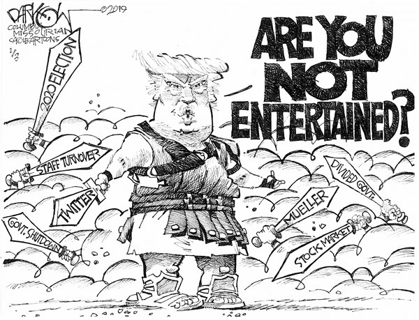 Best Cartoons 2020 Tooning into 2019 — The best of political cartoons from the first
