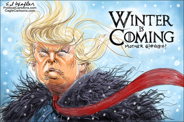 Best Cartoons 2019 Tooning into 2019 — The best of political cartoons from the first