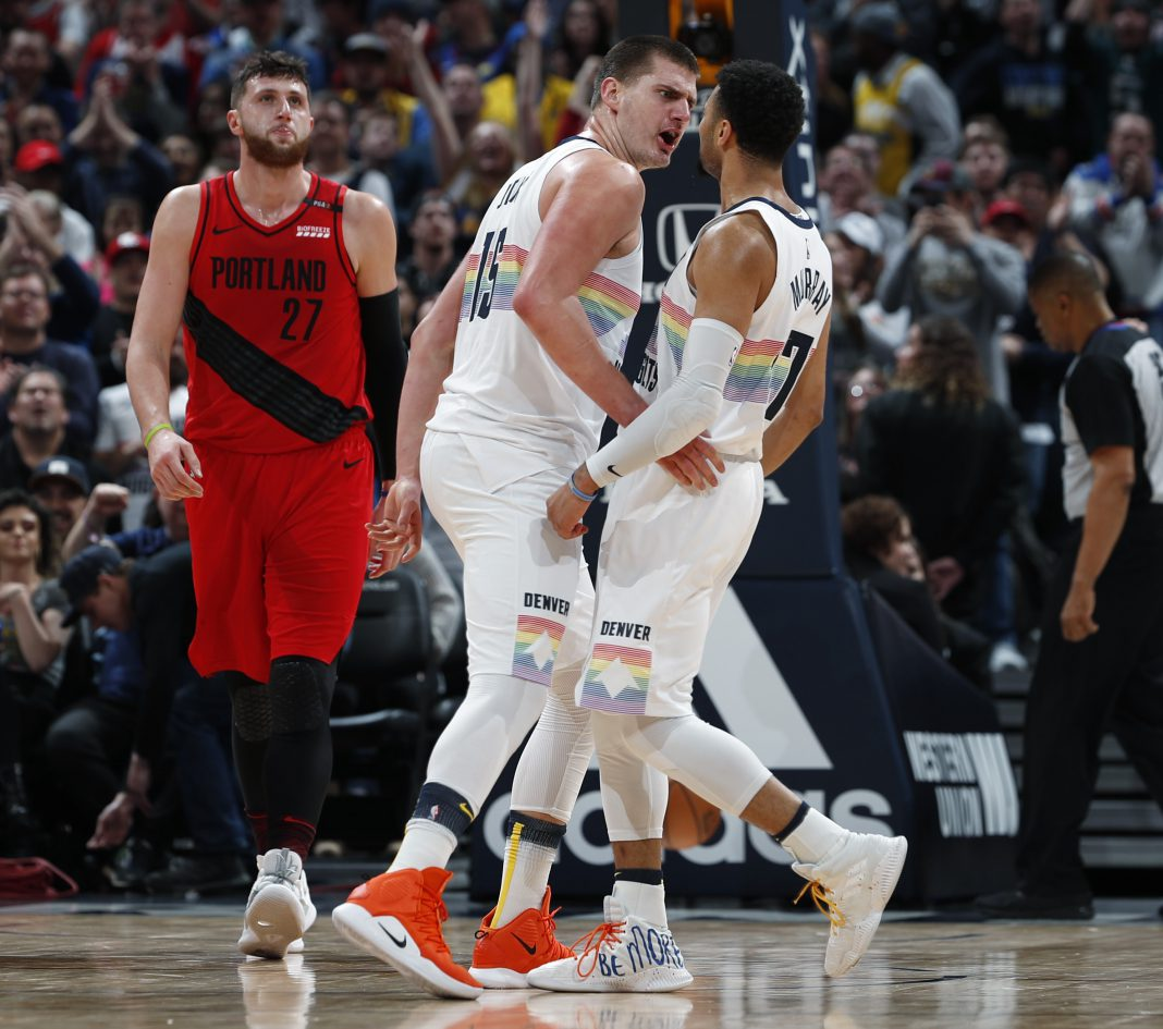 Jokic Scores 40, Leads Nuggets Past Trail Blazers, 116-113