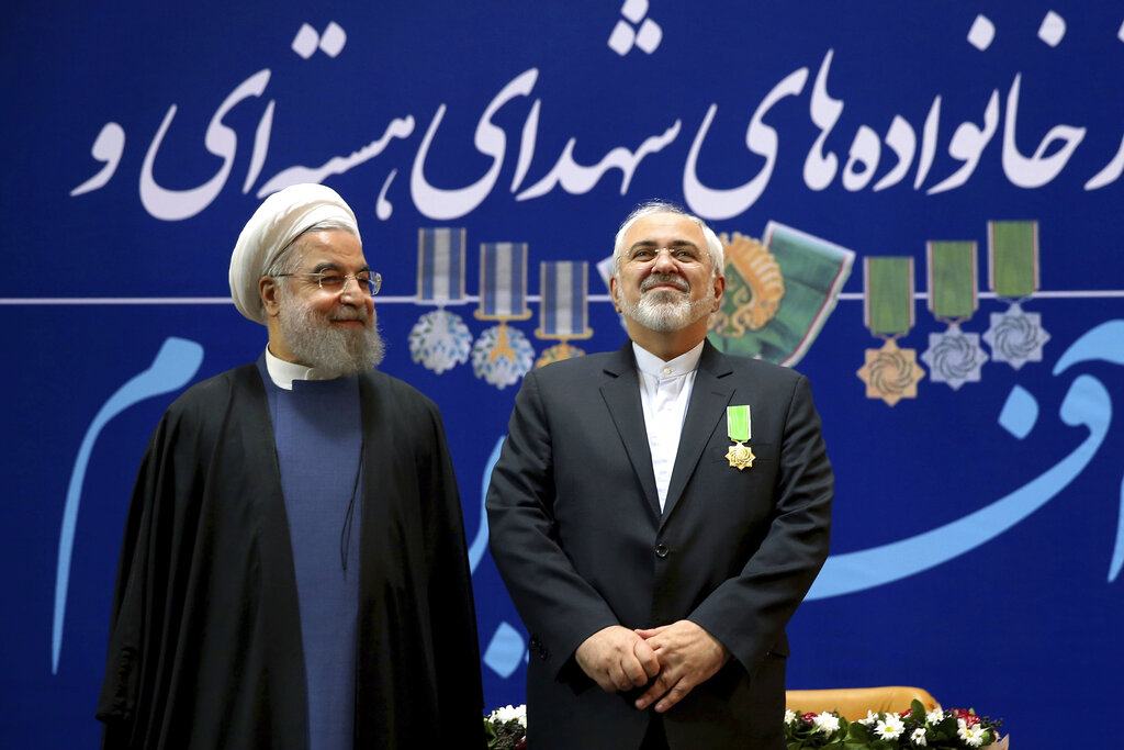 3fa63c57d AP Explains  Iran s FM quits as atomic deal unravels - Sentinel Colorado