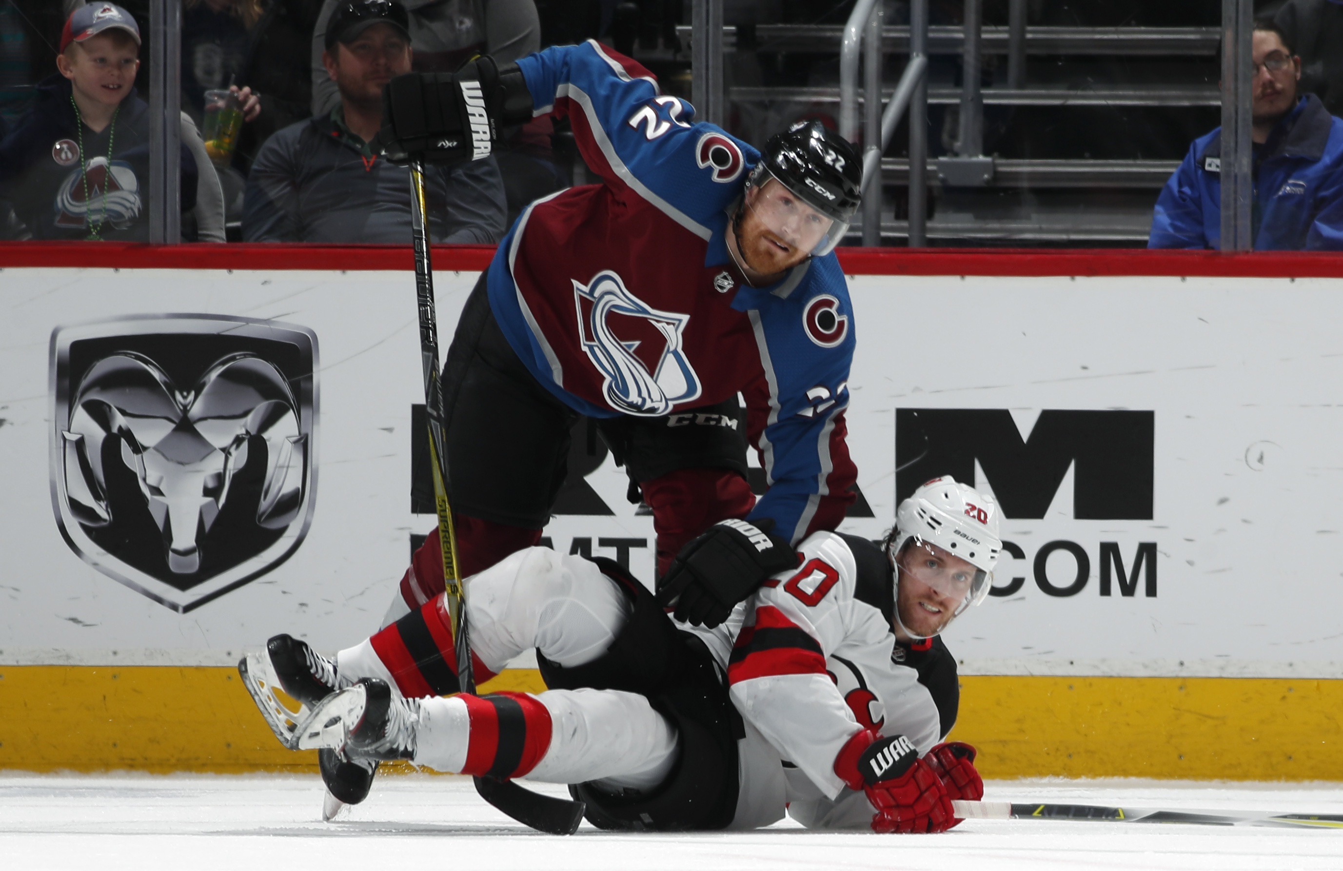 Grubauer helps Avs beat Devils 3-0 - Sentinel Colorado 420902bff