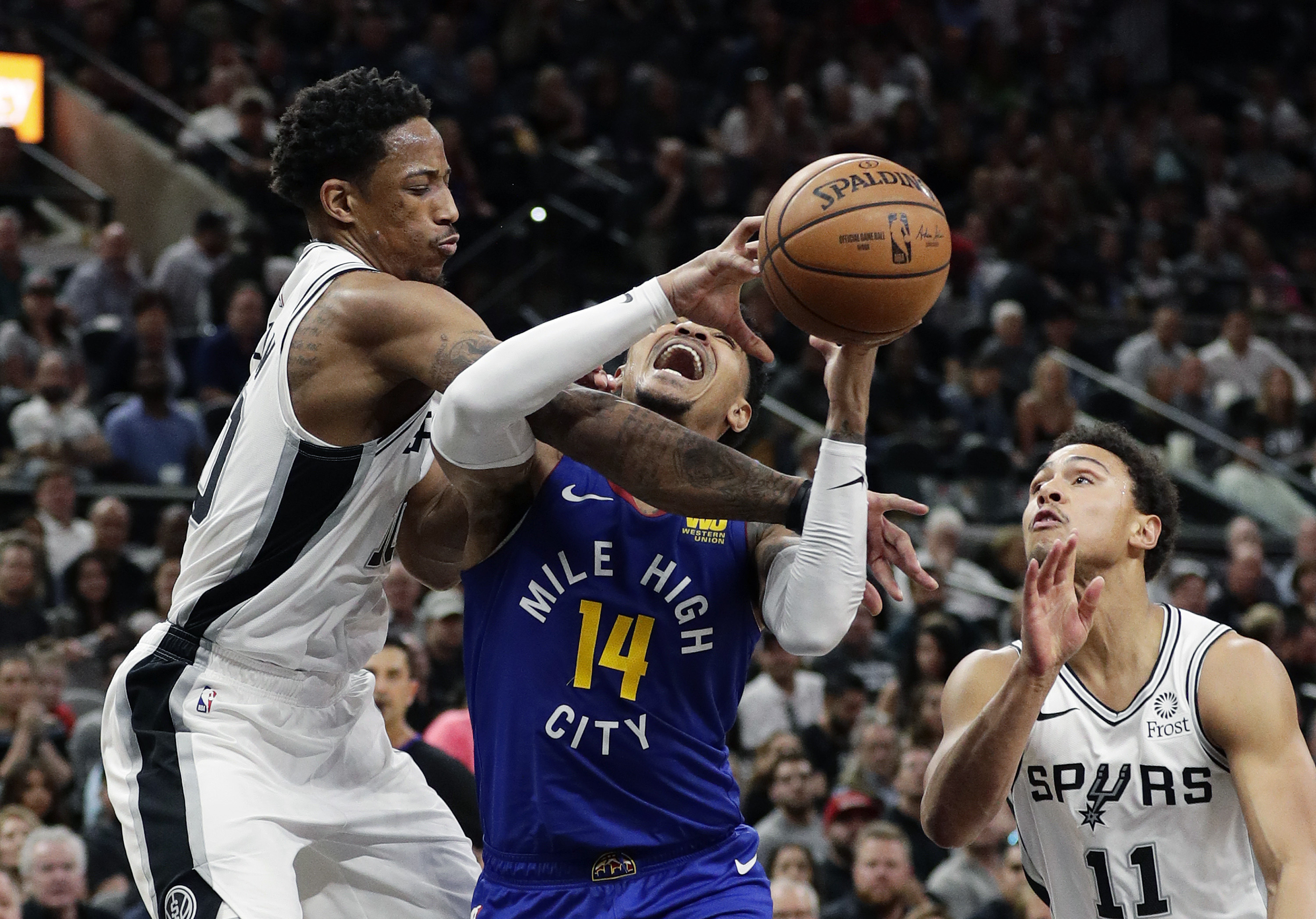 Spurs force Game 7 with 120-103 win over Nuggets | Sentinel Colorado