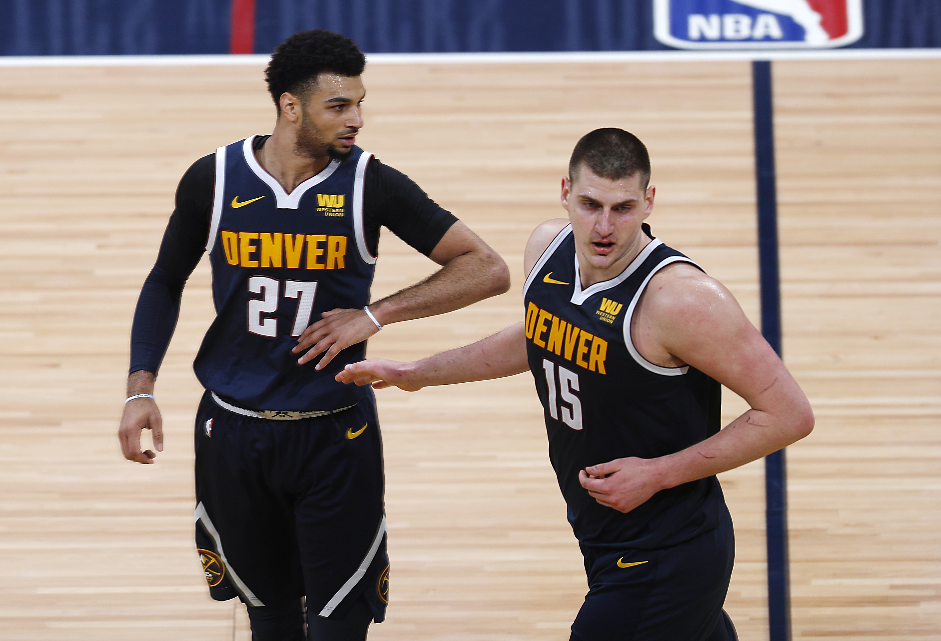 f82fcd2fff60 Nuggets move on to face Blazers in 2nd round of playoffs - Sentinel ...