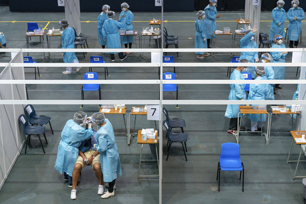 Mass testing programme for Covid-19 begins in Hong Kong
