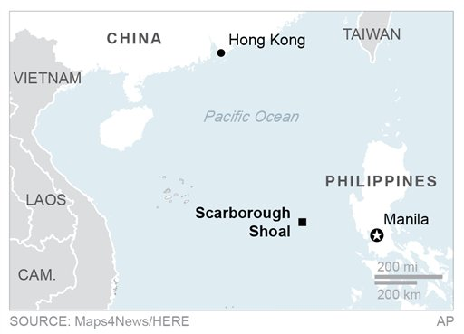 China plans 1st structure on disputed South China Sea shoal ... on south korea map, bataan map, pratas island map, south china sea, north korea map, swains island map, machias seal island map, nine-dotted line, pratas islands, spratly islands, north borneo map, bangladesh map, china map, south china sea islands, spratly islands dispute, cebu map, philippines map, masbate map, subic bay map, yongxing island map, paracel islands, macclesfield bank, senkaku islands dispute, senkaku islands, hans island map, mayotte map, itu aba island map, chagos archipelago map, mindoro map, matsu islands map,