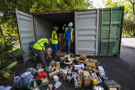 US hardware arrives in Cuba to protect Hemingway possessions