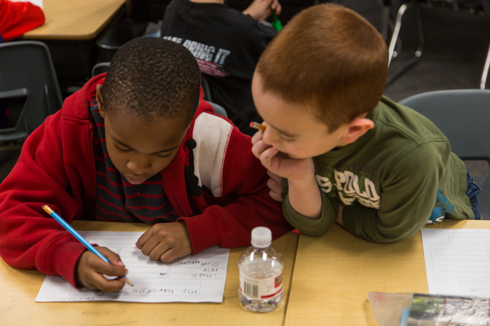 TALKING THE TALK: For English learners, cooperation – not