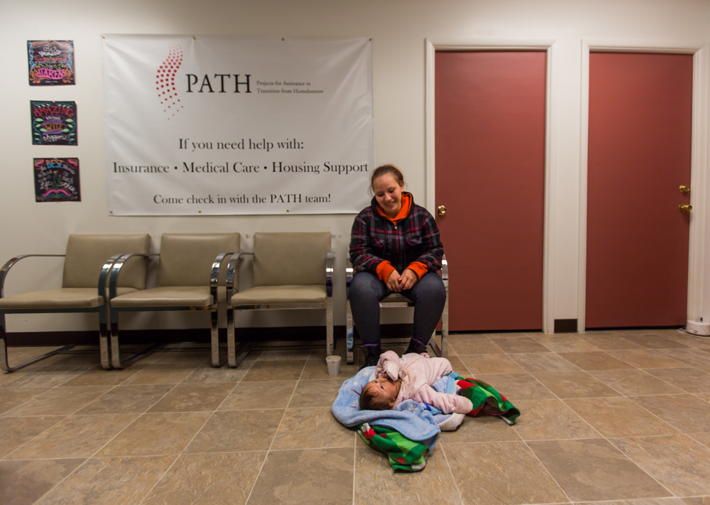 No shortage of cold and homeless in Aurora, just warm places