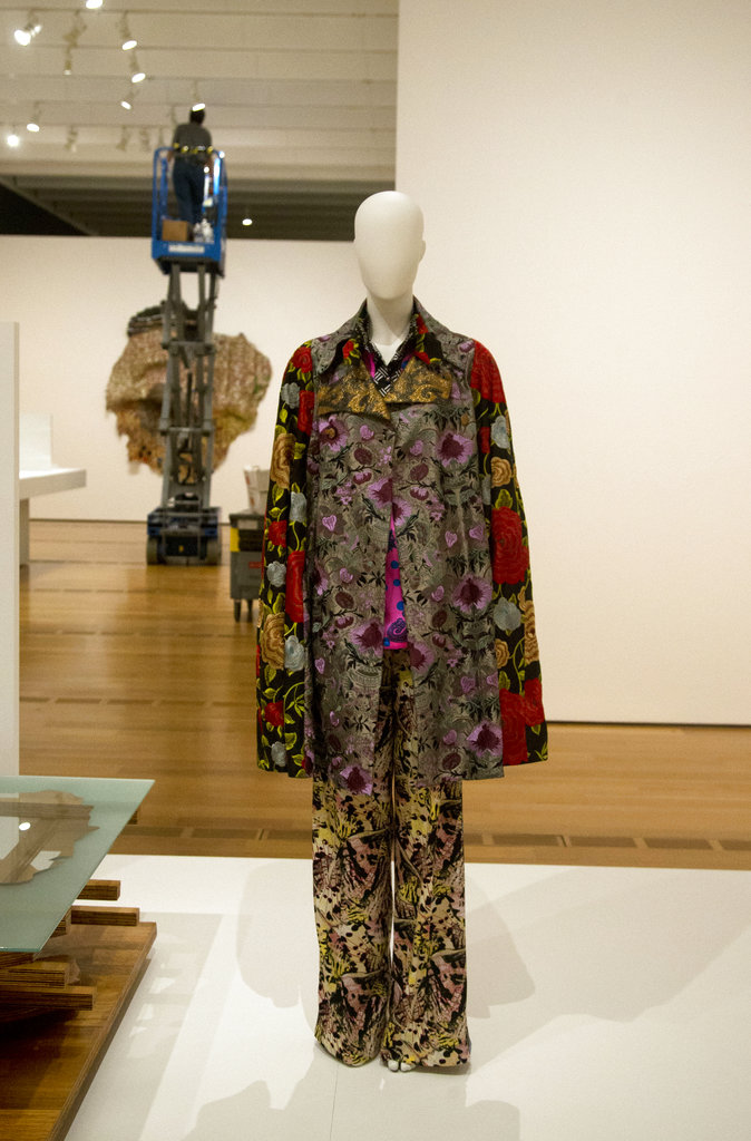 A colorful outfit by duro olowu is shown at the high museum of art wednesday oct 11 2017 in atlanta making africa a continent of contemporary design