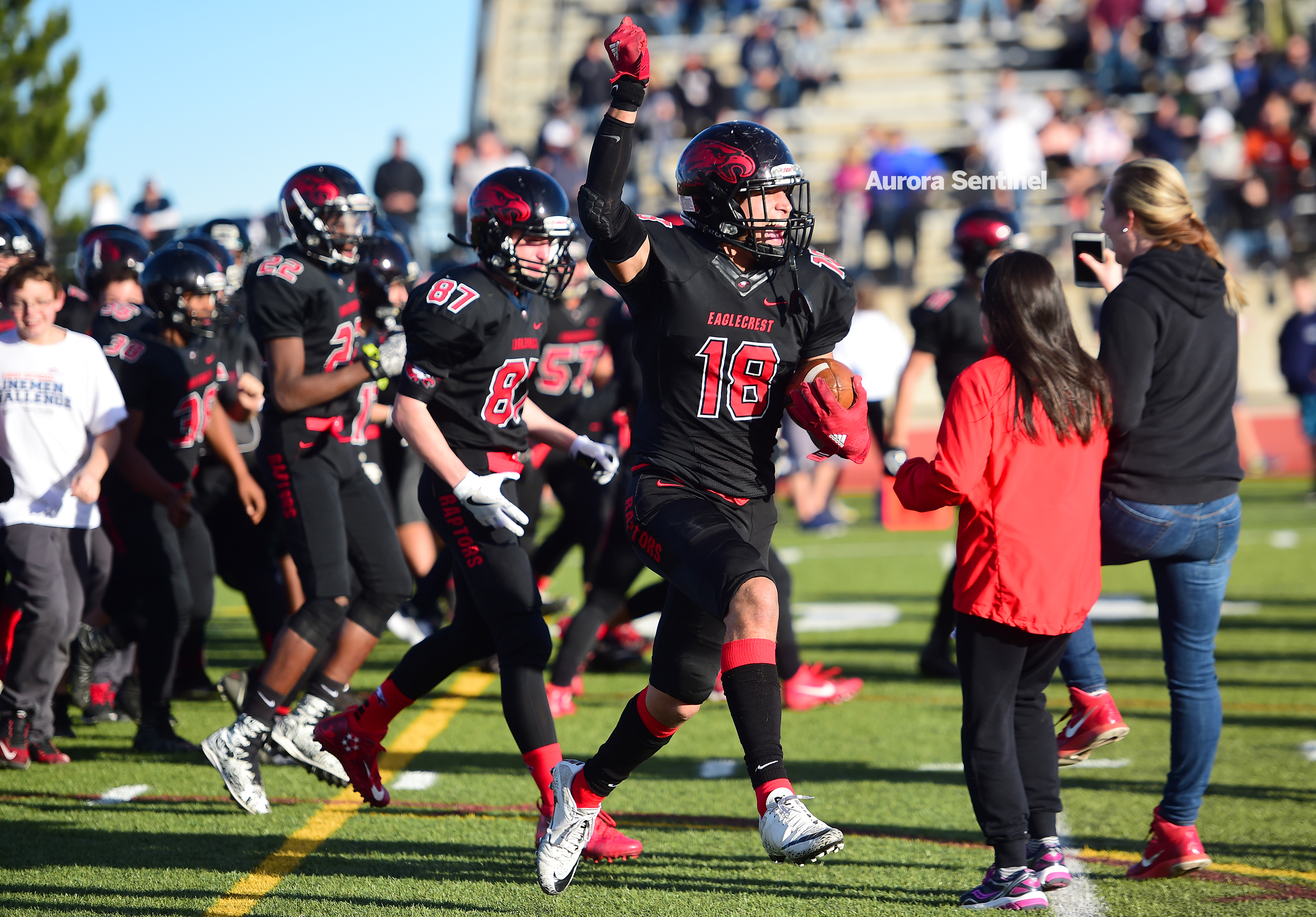 Football Eaglecrest Gamble In Double Ot Pays Off In 5a Semifinal