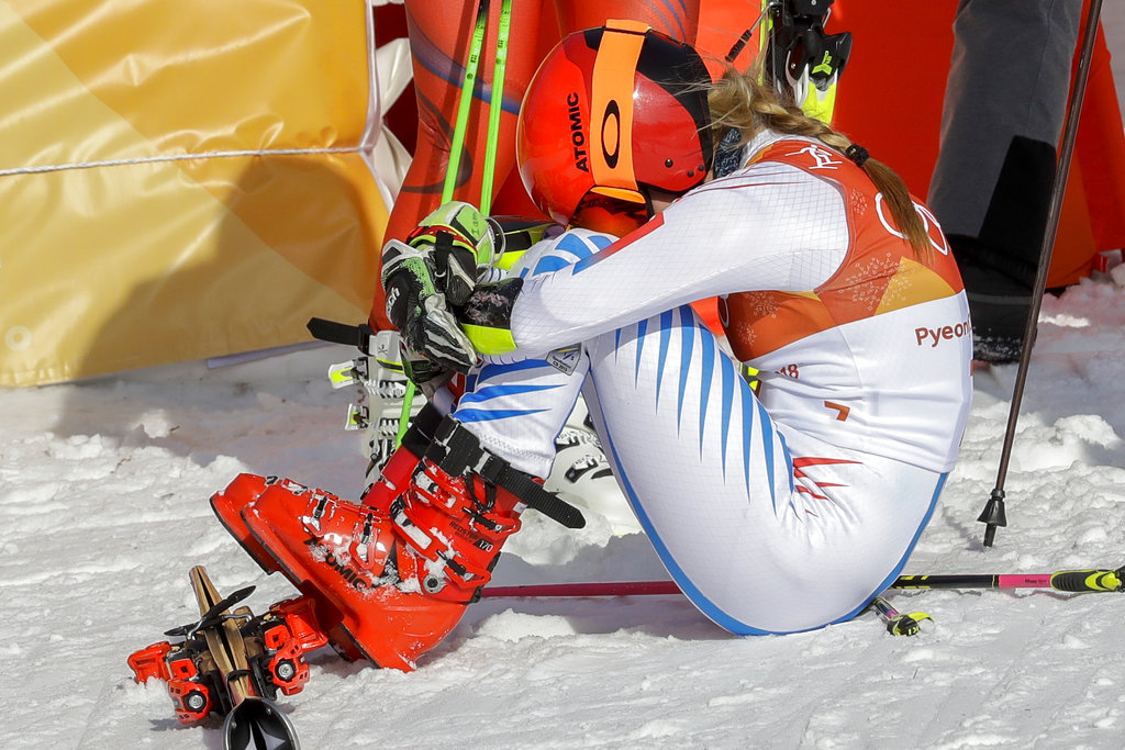 Delays done, Shiffrin wins Olympic GS gold